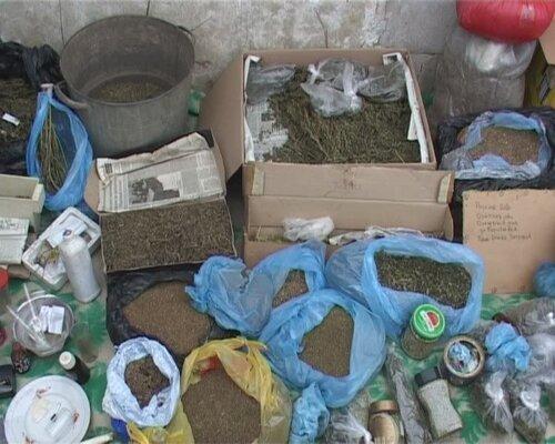 Нарколаборатория в гараже