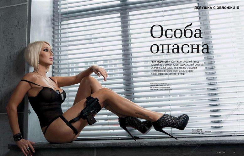 Лера Кудрявцева в журнале Playboy Россия, май 2012