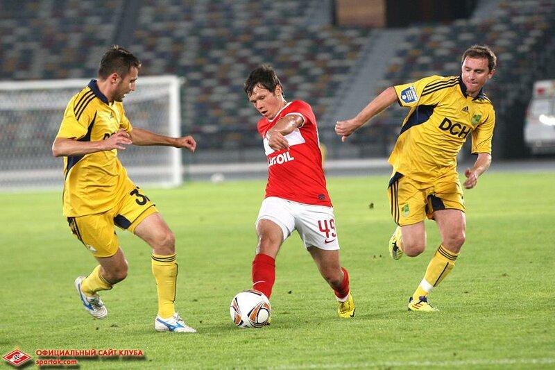 «Спартак» vs «Металлист» 1:4 контрольный матч 2012 (Фото)