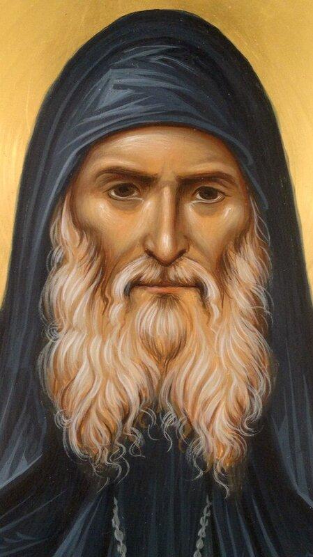 Святой Преподобноисповедник Гавриил (Ургебадзе). Иконописец Зураб Модебадзе.