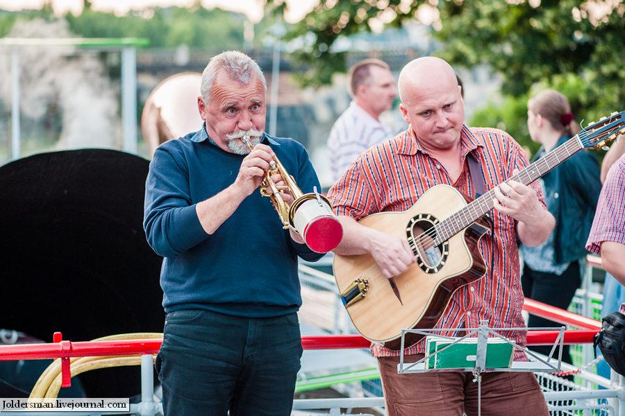 музыканты в Праге