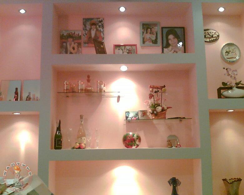 Как сделать стены на кухне из гипсокартона