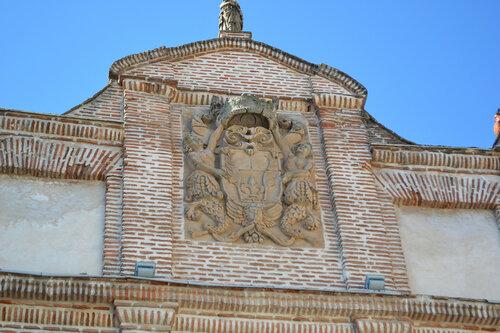 Medina del Campo и замок Castillo de la Mota