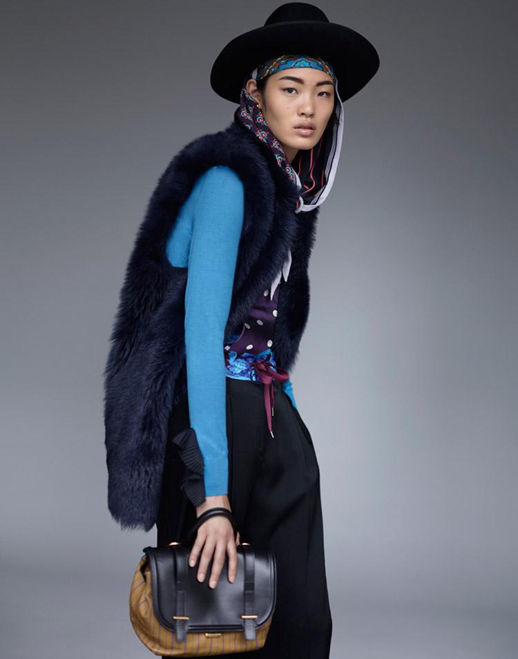 Чихару Окунуги (Chiharu Okunugi) в журнале Numero Tokyo