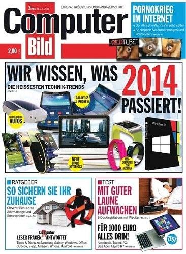 Книга Журнал:  Computer Bild №2 [Германия] (февраль 2014)