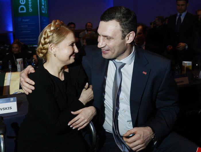 Тимошенко в Дубліні