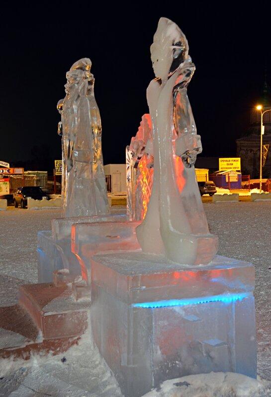 В ледовом городке