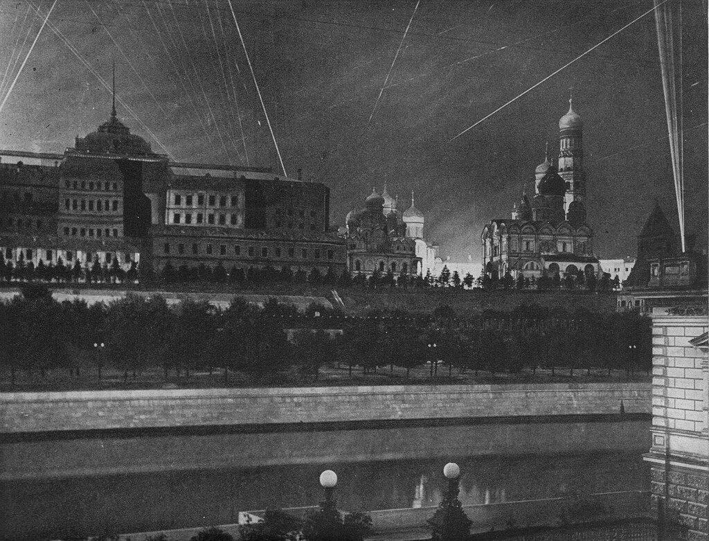 Максировка Москвы