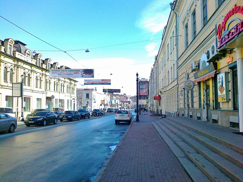 улица петра сагайдачного