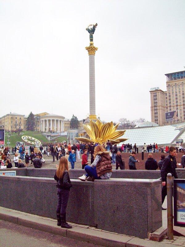 Золотой лотос на Майдане