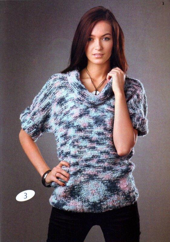 Вязаная кофта спицами для начинающих: мохеровые свитера схемы.