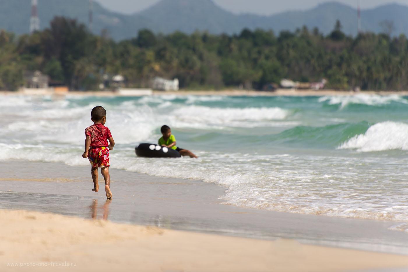 Фотография 5. Отзывы туристов об отдыхе в Таиланде. Окрестности города Чумпхон. Счастливое детство (100, 270, 5.6, 1/640)