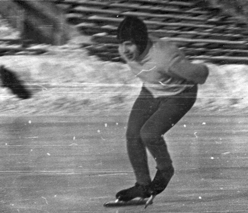 Декабрь 1969г. Левобережный стадион.