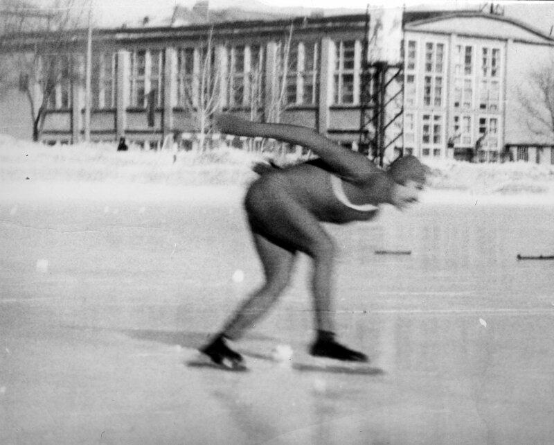 1986г. Шварцман Ю. на 1500м.