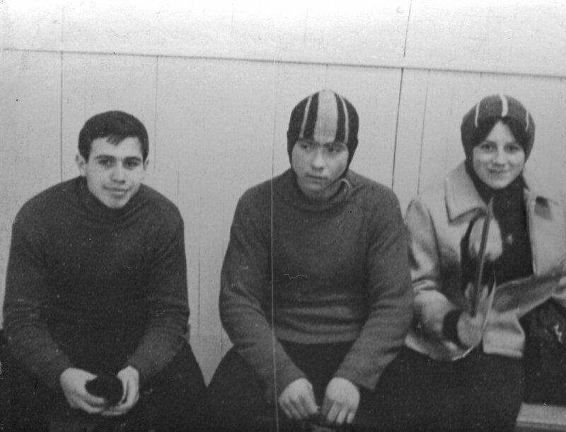 1969г. Шварцман Ю.,Бронников В.,Лапонова Н.