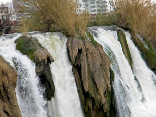 начало водопада