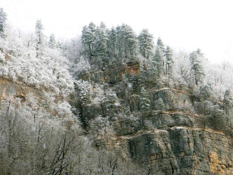 Фотограф Алексей Значков, Гуамское ущелье, 06.02.2010, Кавказ, Кубань