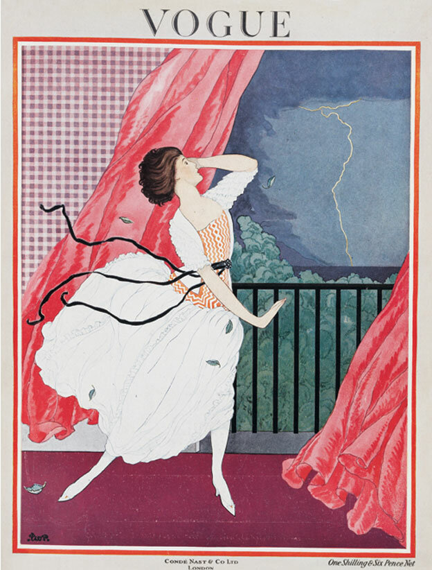 Vogue Magazine cover 1921