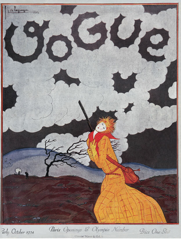 Vogue Magazine cover 1924