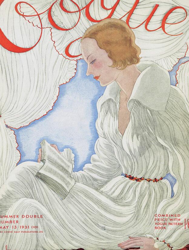 Vogue Magazine cover 1931