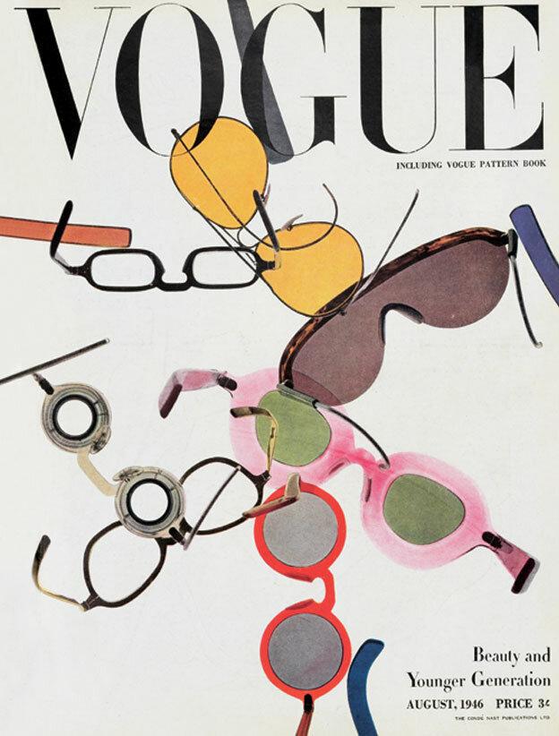 Vogue Magazine cover 1946