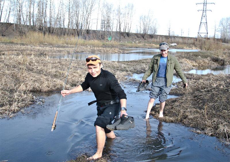 на что ловить рыбу на томи