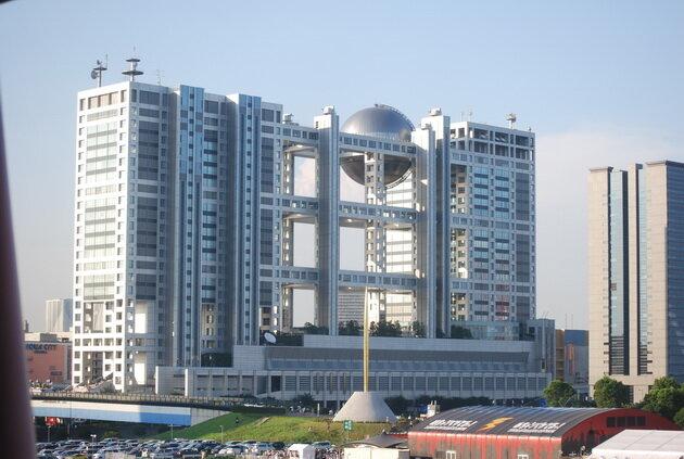 Fuji TV Building. Токио