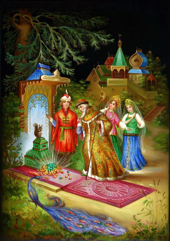 картины из сказки сказка о царе салтане