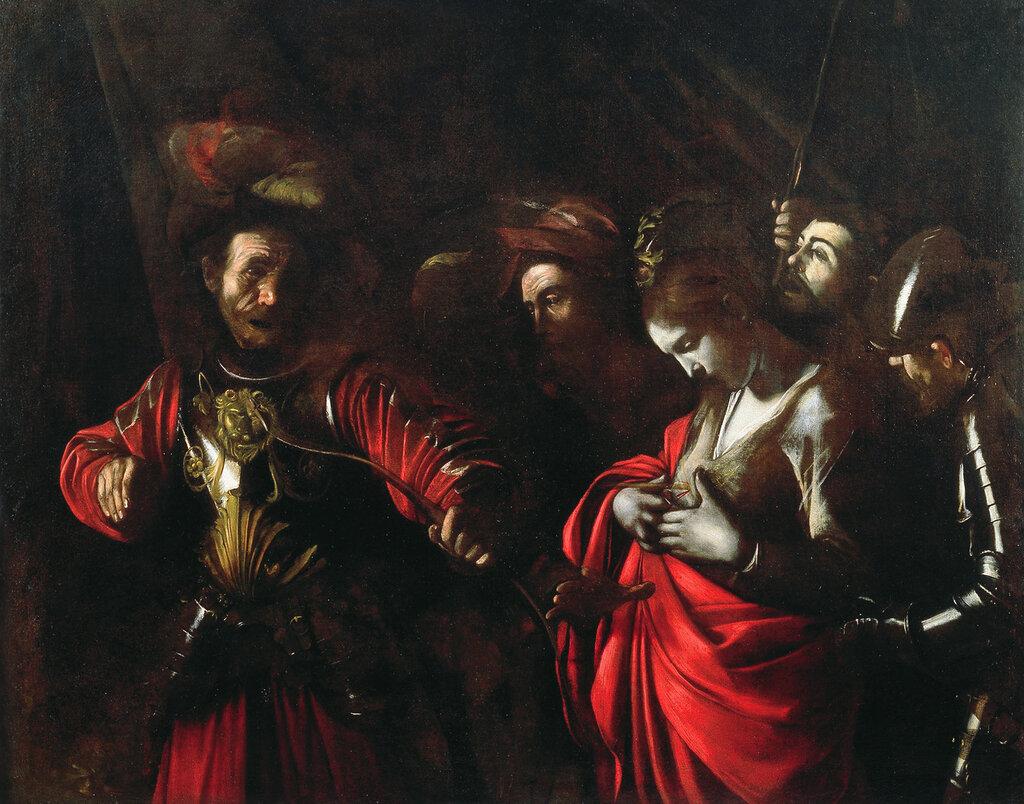 «Мученичество св. Урсулы» (Коллекция Банка Интеза Санпаоло, Неаполь).