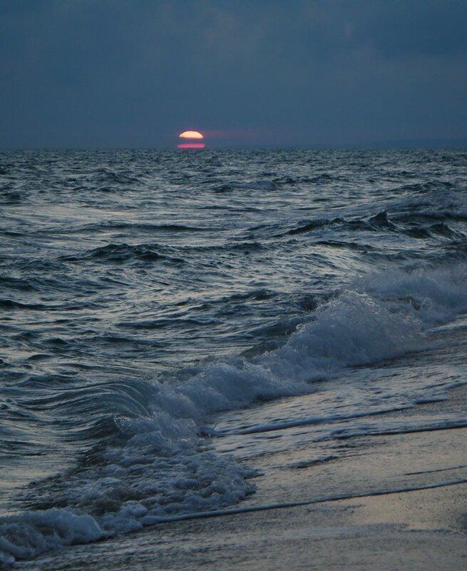 Ощущение того, что стоишь там, на берегу...