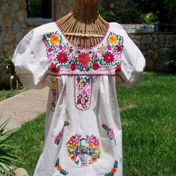 мексиканская вышивка на одежде