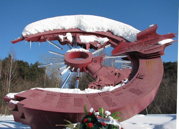 Памятник мотоциклистам