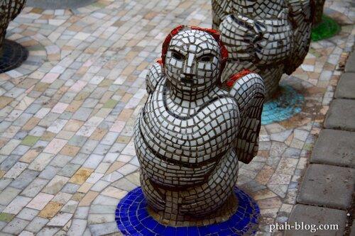 ангел, мозаика, малая академия искусств
