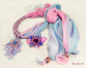 Просто шарфики (вдохновитель Татьяна Ван Итен) .
