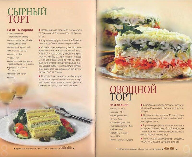 Кулинарные торты рецепты