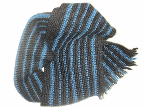 шарф для мужчины крючком