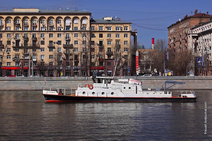 Теплоход «Путейский-14»