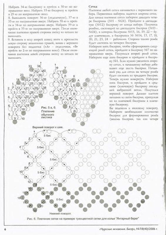 Схема плетения из бисера чехла для телефона.