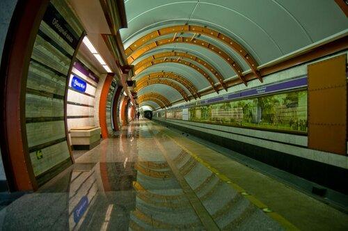 Питерское метро.Станция Обводный канал