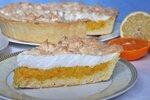 Пирог лимонно-апельсиновый с меренгой