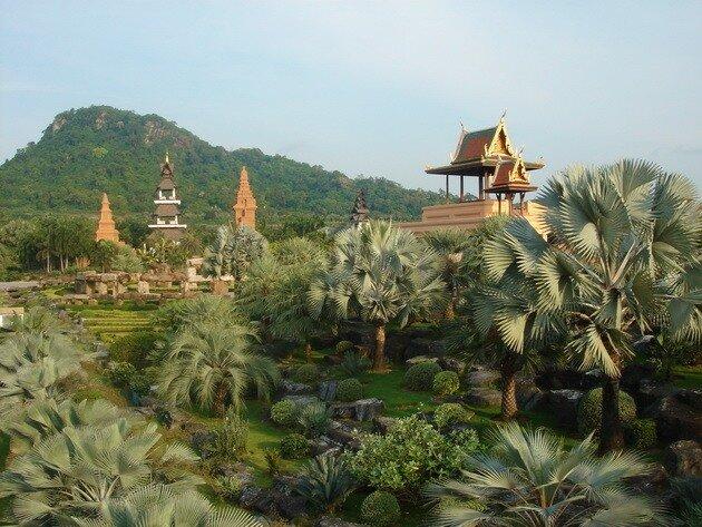 Тропический парк Нонг Нуч. Таиланд