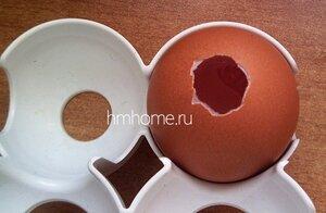 Мыло в форме яиц