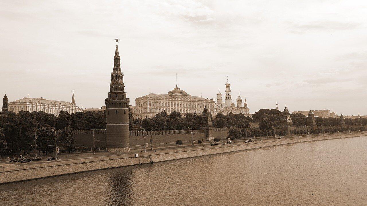 Москва, Кремль. Водовзводная  (Свиблова) башня