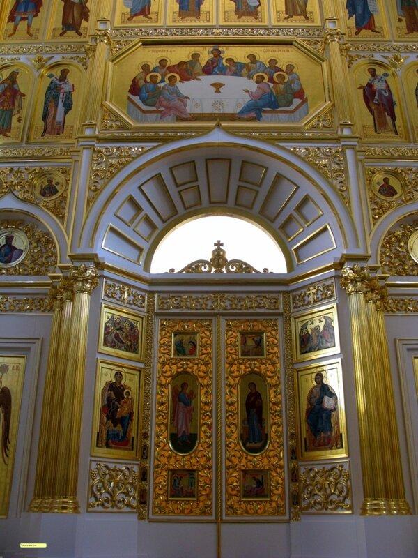Воссозданный Екатерининский собор (вид  внутри)