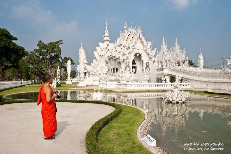 Тайланд: белый храм Wat Rong Khun