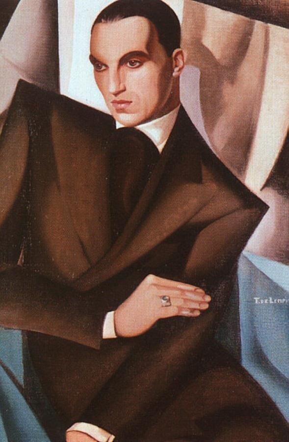 Лемпицка, Тамара, Портрет маркиза Сомми 1925, 1925 http://veniamin1.livejournal.com/profile