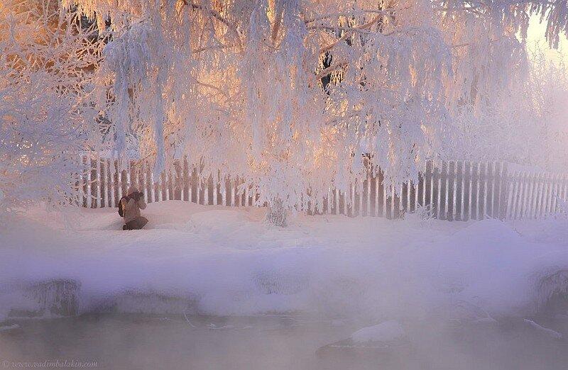 зимняя съемка