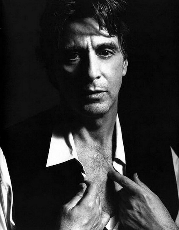 Photographer Herb Ritts.Al Pacino