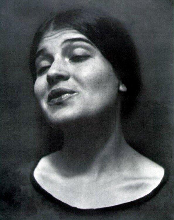 Edward Weston, Tina Reciting, 1924