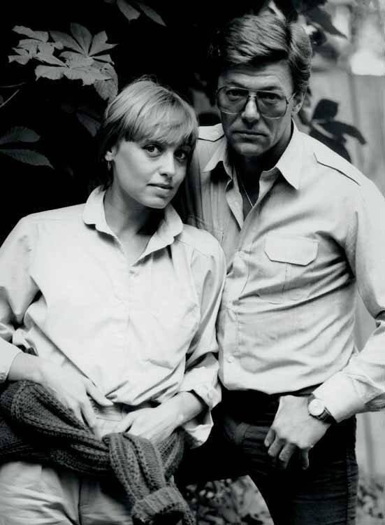 Елена Шанина и Александр Збруев. 1983 год